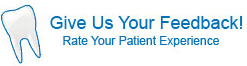 Give us your feedback. Rate your patient experience.